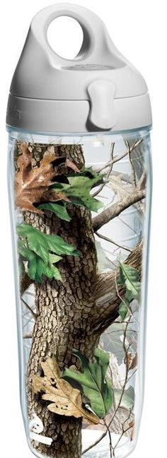 Features:  -Double-walled insulated drinkware.  -Realtree collection.  -Made in the USA.  Country of Manufacture: -United States.  Product Type: -Insulated tumbler/Water Bottle.  Color: -Brown/Green/L