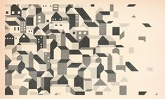 Deconstruction // By Andrew Holder Love Illustration, Deconstruction, City Buildings, Illustrations, Op Art, Vector Art, Graphic Art, Art Drawings, Artwork
