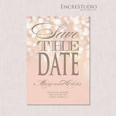 Hey, I found this really awesome Etsy listing at https://www.etsy.com/listing/201933007/save-the-date-invitation-gold-and-blush