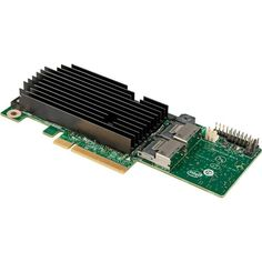 Intel 8-Ports SAS RAID Controller PCI Express 2.0 x8 Plug-in Card RMS25KB080 With High/Low Profile Bracket