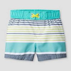 Baby Boys' Striped Swim Trunk Cat & Jack™ : Target
