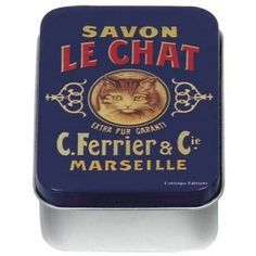 Blikje klein Savon le Chat
