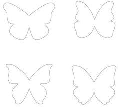 Pochoir papillon gratuit imprimer et d couper soi m me disponible en t l chargement gratuit - Dessin papillon a decouper ...