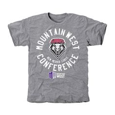New Mexico Lobos Conference Stamp Tri-Blend T-Shirt - Ash - $24.99