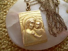 Beautiful rare Vintage Our Lady of Good Counsel by Andraliz, $400.00