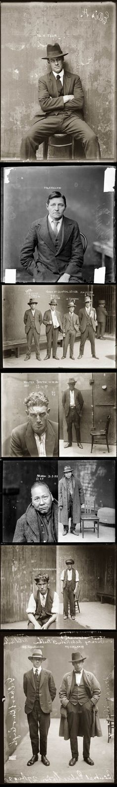 1920s mugshots. Second one done is a transgendered woman to man, without surgery obviously.