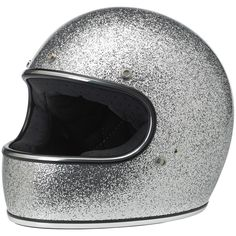 So sparkly I looove it - Gringo Helmet - Brite Silver MF