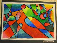 Lake and Hartville Elementary Art: Grade ART- Painting with Oil Pastels Chalk Pastel Art, Oil Pastel Art, Oil Pastel Drawings, Chalk Pastels, Oil Pastels, 7th Grade Art, Grade 3, Middle School Art Projects, Art Lessons For Kids