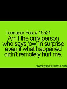 Lol, i get teased about this all the time!!