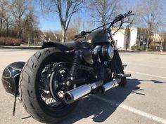Harley-Davidson Forty. Eight 48 Bobber Old School Umbau 180er