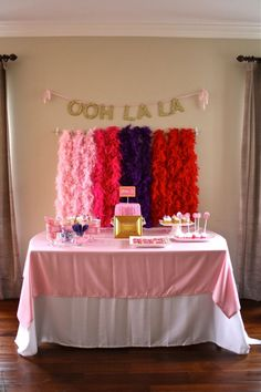"Have a Fancy Nancy fan in your family? Check out this ""fancy"" party! #fancy"