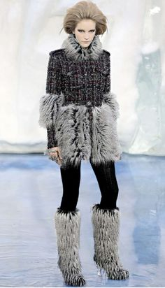 eskimo fashion | eskimo chic Chanel autumn/winter 2010 | Fashion
