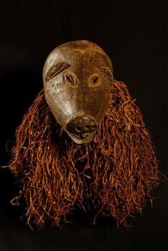Ngulu pig mask - Chokwe - Angola