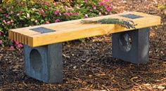 CONTEMPORARY GARDEN BENCH (PDF) woodworking plans and information ...