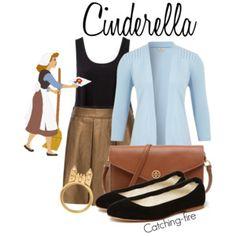 Disney polyvore, Cinderella