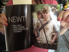 Inside the Maze Runner: The guide to the Glade. Omg I need this magazine...