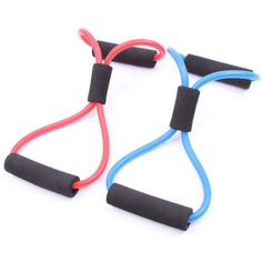Yoga Training Crossfit Elastic Band  Gym 8 Word Chest Developer Rubber LOOP Latex Resistance Bands Fitness Stretch Equipment