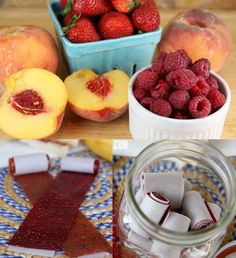 Homemade fruit roll-ups in the oven,  without a dehydrator.