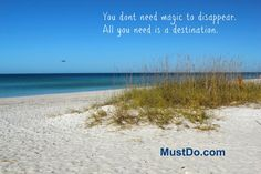 Plan your disappearance to the beaches of Southwest Florida with Must Do Visitor Guides - visit MustDo.com