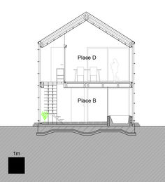 Transustainable House,Section