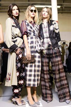 Pijama Party! Dries Van Noten Spring Summer 2013 #fashion #trend