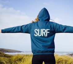 Go wild in the country with our wear everyday surf hoody! From the Beach…