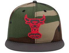 9efecb473ae Camoflect Chicago Bulls 59Fifty Fitted Cap by NEW ERA x NBA Fitted Baseball  Caps