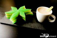 Recette de dessert lait de coco et haricot mungo aromatisé au pandan (Bánh Da Lợn-flan-sans gluten)