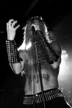 Dolk of Norwegian black metal band Kampfar.