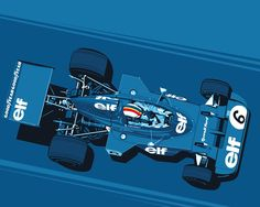 "LIMITED EDITION LEGENDS NEVER DIE - #006 François Cevert 18""x 24"" 7 color screen printed poster. Printed on beautiful 100lb cover stock from French Paper Co. in Niles, Michigan. Limited to just 50 pri"