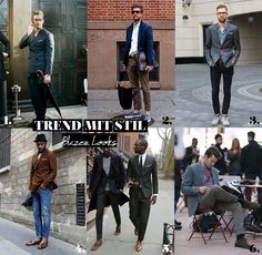 Cool Business Look: Blazer Look Blazer, Business Look, Trends, Cool Stuff, Coat, Jackets, Fashion, Style Men, Style For Men