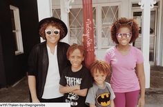 Meet Summer, Fuego, Dovious and Dior, affectionately known as The Ginger Sibs. These red-headed cuties are Youtube's first family of naturally ginger black siblings. They post a variety of ki…
