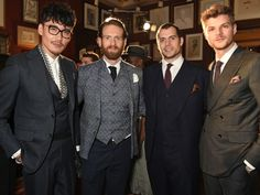 David Gandy And Henry Cavill Look Beyond Handsome At 2016 London Collections Men