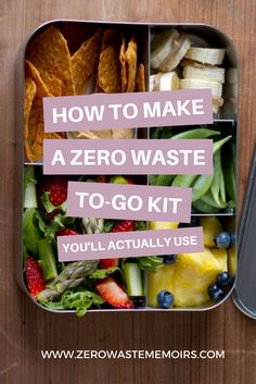 """Putting together a Zero Waste To Go Kit is a super easy, low-effort way to reduce your environmental impact. You'll never look back! Follow any Zero Waster's Instagram and you'll discover pretty quickly that each one of us carries a """"Zero Waste To Go Kit."""" Its purpose is two-fold: To eliminate any garbage created 'on …"""