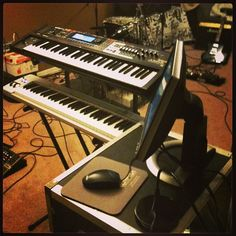 new keyboard gig rig ;-)