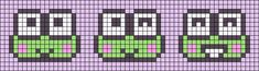 Loom Beading, Beading Patterns, Crochet Patterns, Beaded Bookmarks, Cross Stitch Bookmarks, Friendship Bracelets With Beads, Friendship Bracelet Patterns, Kawaii Cross Stitch, Pixel Art Grid