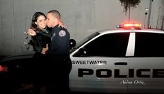 Engagement pictures with my police officer #stephnhectorfairytale