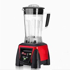 Fruit Juicer Mixer Professional Centrifugal Juice Extractor Powerful and Low Noise 2200W / 2L , red