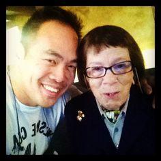 NCIS LA: Larry Teng (director) & Linda Hunt