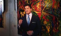 Sylvester Stallone artwork to go on show in St Petersburg   News   The Calvert Journal