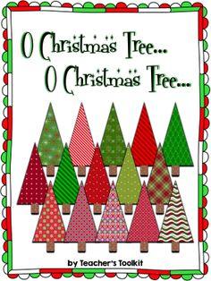 Freebie!  Christmas tree clip art