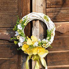 Grapevine Wreath, Grape Vines, Flower Arrangements, Bouquet, Easter, Jar, Spring, Flowers, Projects