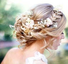Wedding hair updos 2018 - # check more at wedding. - Wedding hair updos 2018 – # check more at wedding. Best Wedding Hairstyles, Vintage Hairstyles, Summer Hairstyles, Fashion Hairstyles, Hairstyles 2016, Trendy Hairstyles, Bridal Hairstyle Traditional, Wedding Beauty, Wedding Makeup
