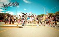 apresentando longbrothers de brasília - d/f uma associação de skate longboard, formada por atletas, amadores e amantes do esporte, imagens enviadas pela jéssica lara.