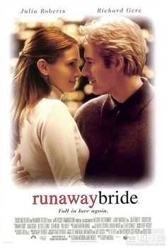 Back together again.... Julia and Richard... in Runaway Bride