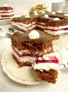Ciasto-Kinder-Pingui. - #ciasto #CiastoKinderPingui #kinder #pingui Gateaux Cake, Polish Recipes, Pie Dessert, Food Cakes, Chocolate Cake, Baked Goods, Ale, Cake Recipes, Food And Drink