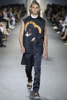 One Look: Givenchy Menswear