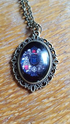 Doctor Who Collage Necklace by AwesomeOddities on Etsy