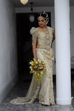 By The Wedding Flowers Gallery. Sri Lankan wedding.