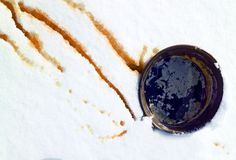 Maple syrup drizzled in the snow. A San Francisco, um, New England treat.